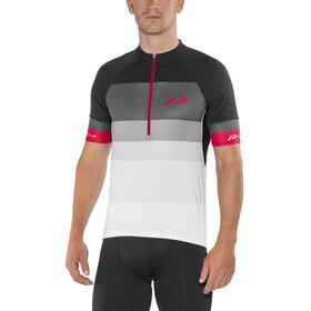 Protective Turin Kortærmet cykeltrøje Herrer hvid/sort